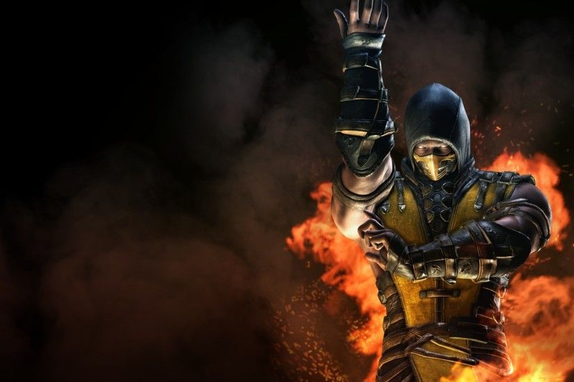 Mortal Kombat X Inferno Scorpion