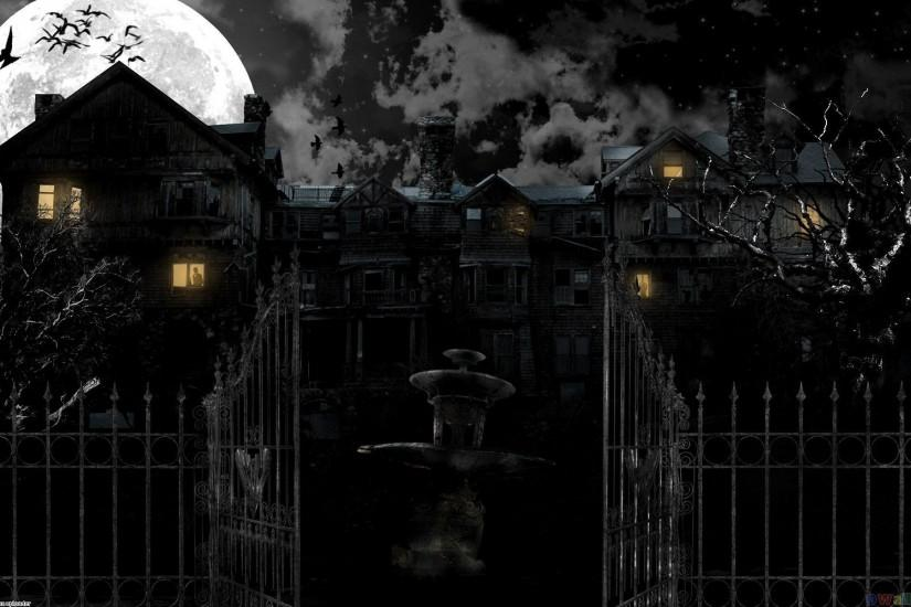 large haunted mansion wallpaper 1920x1200 for samsung