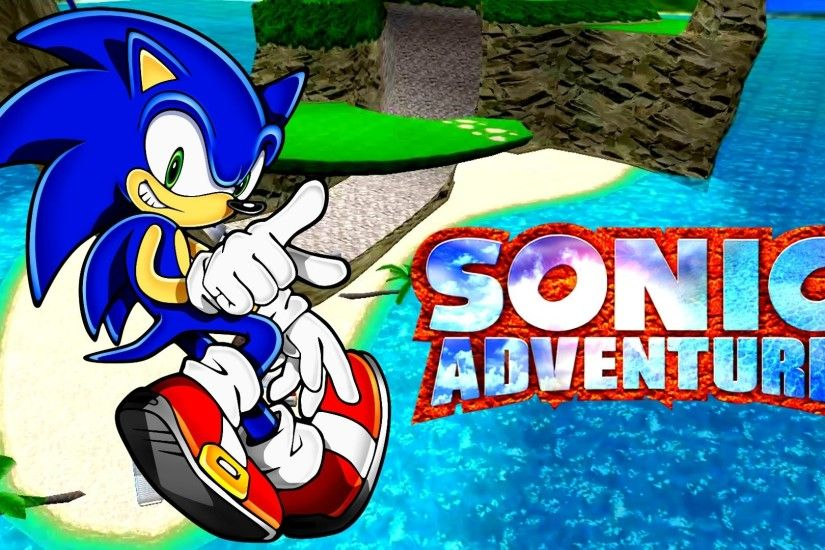 Sonic Adventure - Emerald Coast - Sonic [REAL Full HD, Widescreen] - YouTube