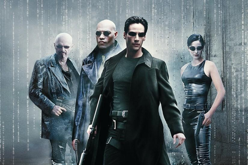 the matrix movie film keanu reeves neo tom anderson laurence fishburne  morpheus carrie-anne moss