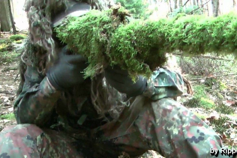 Ghillie Suit Tips - Different Ways to camouflage Equipment (Part 1/2) -  YouTube