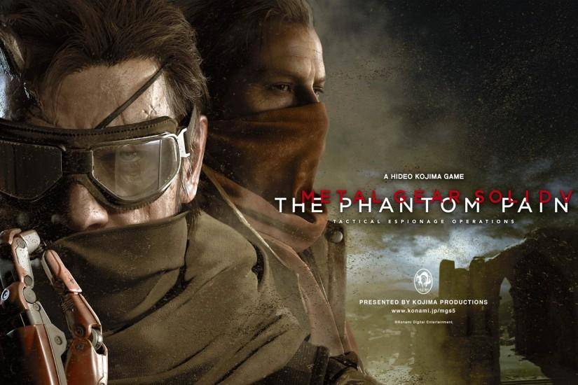 Big Boss & Ocelot - Metal Gear Solid V: The Phantom Pain 1920x1200 wallpaper