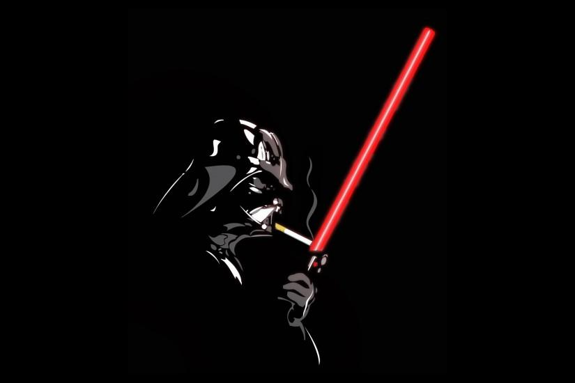 Smoking star wars lightsabers darth vader cigarettes black background  wallpaper | 1920x1200 | 9710 | WallpaperUP