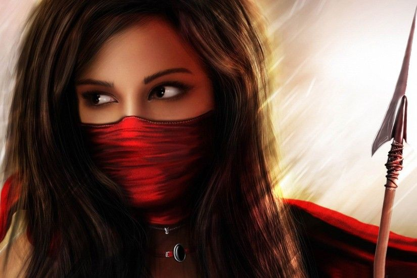 Masked Girl World Of Fantasy Art Design Hd Wallpaper HD Wallpaper .