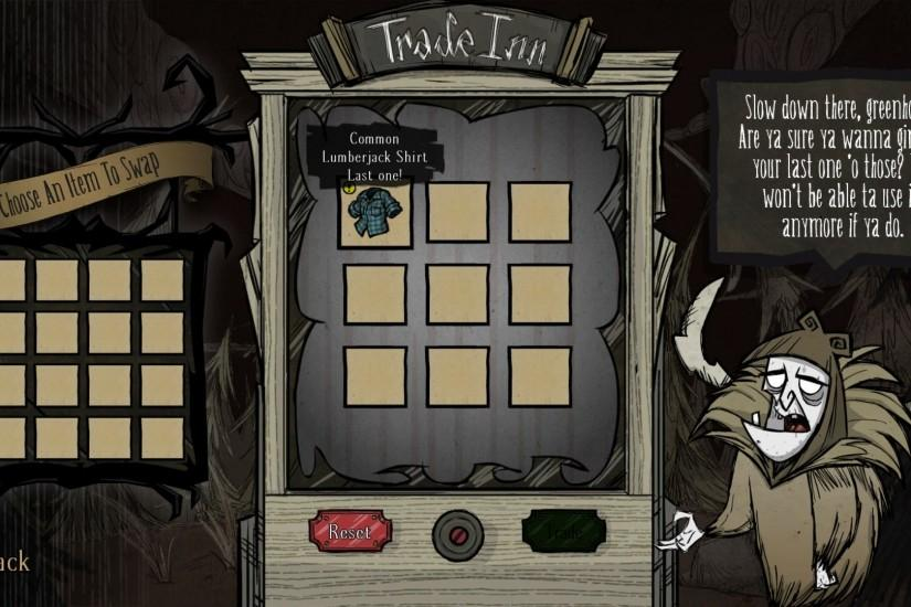 Avid Don't Starve Together Collectors Rejoice: Latest Update Adds the Trade  Inn!