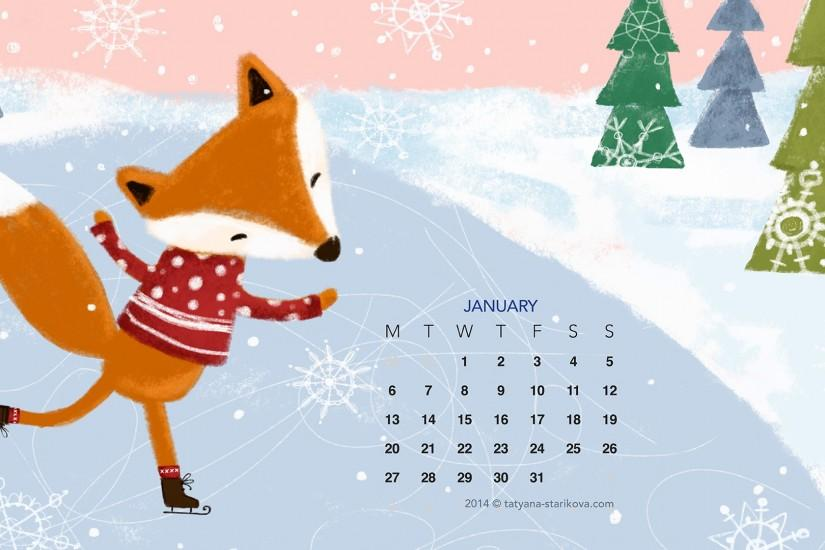 Free Download the January 2014 Desktop Wallpaper