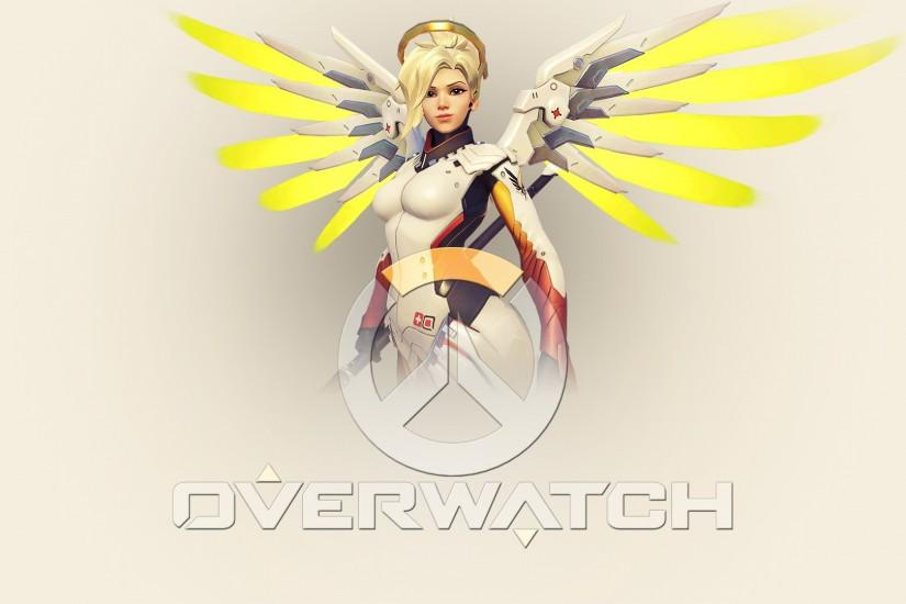 download free mercy overwatch wallpaper 1920x1080