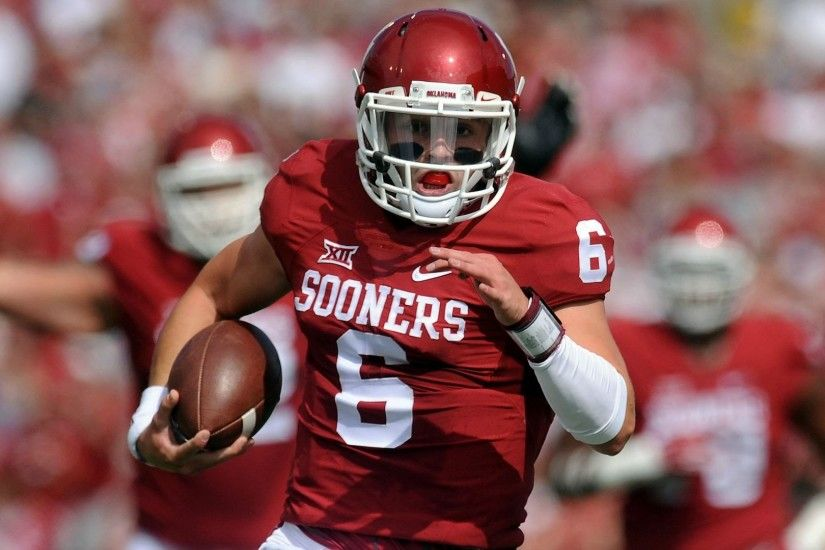 Oklahoma's Baker Mayfield Makes Case For Heisman | CampusInsiders - YouTube