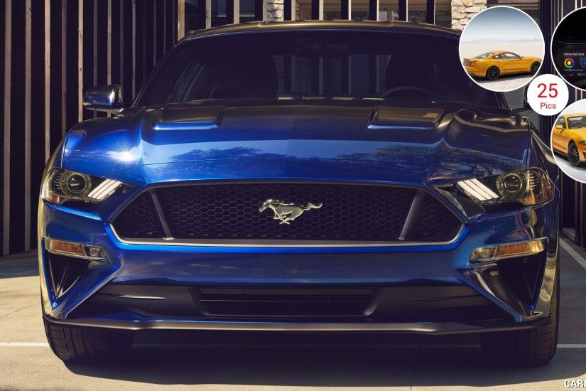 ... 2018 Ford Mustang V8 GT with Performance Package (Color Kona Blue .