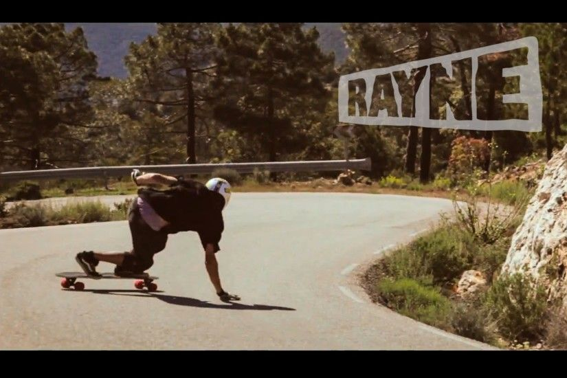 Rayne Longboards Sinful Pleasure Longboard Wheels - Alvaro Bajo - YouTube