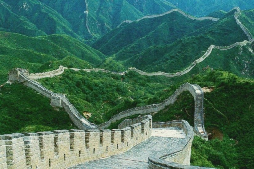 Great Wall of China Widescreen HD Wallpaper 4