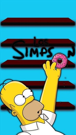 Wallpaper iphone 6 plus homer simpson 5 5 inches
