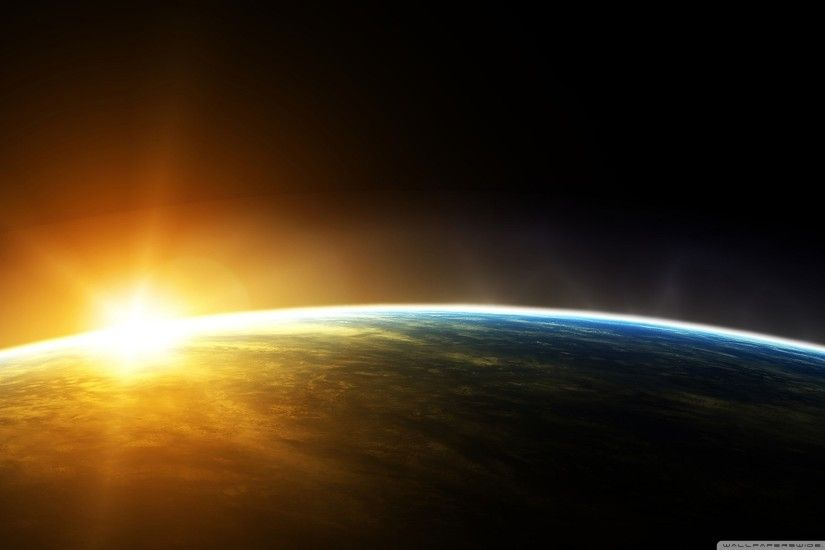 Earth Sunrise Wallpaper