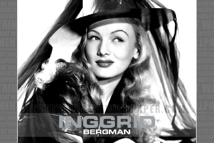 Ingrid Bergman Wallpaper - Original size, download now.