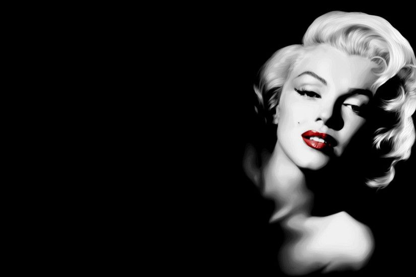 Artistic Marilyn Monroe - Cool Twitter Backgrounds