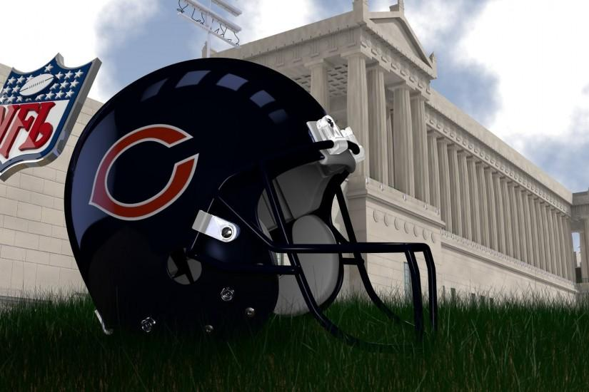 Chicago Bears Helmet Wallpaper