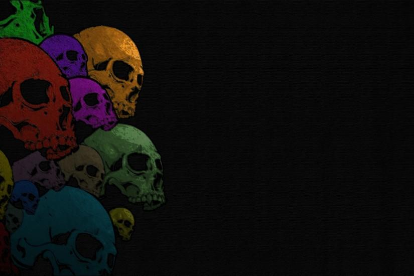 cool skull backgrounds 1920x1080