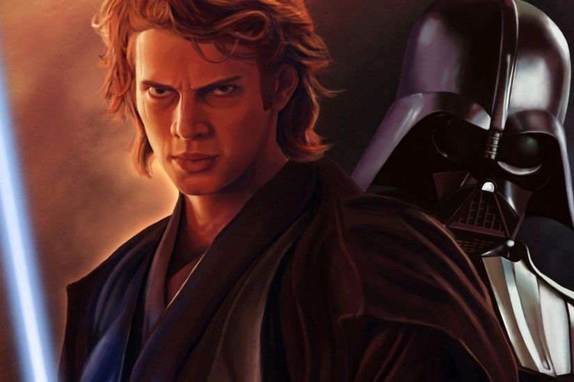 Christensen Anakin Skywalker Dart Vader lightsaber sci-fi wallpaper .