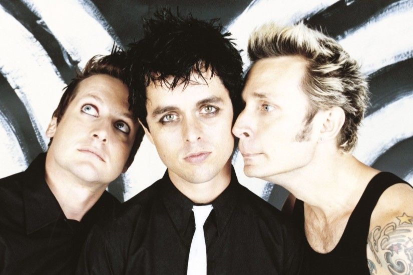 1920x1080 Wallpaper green day, look, tatoo, photo-set, members