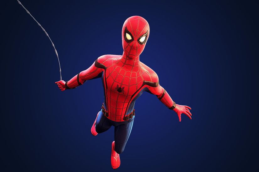 ... Spider-Man: Homecoming - Cinema 4D Wallpaper (1) by HeroGollum
