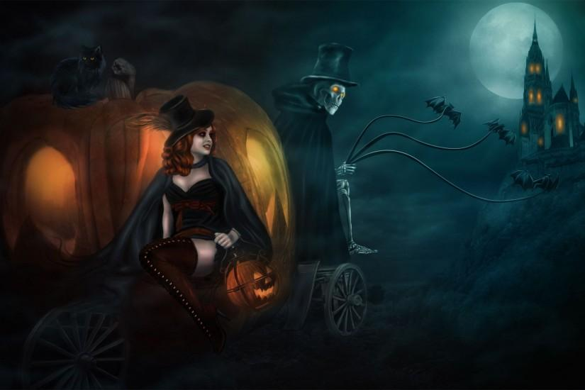 beautiful halloween background 1920x1200