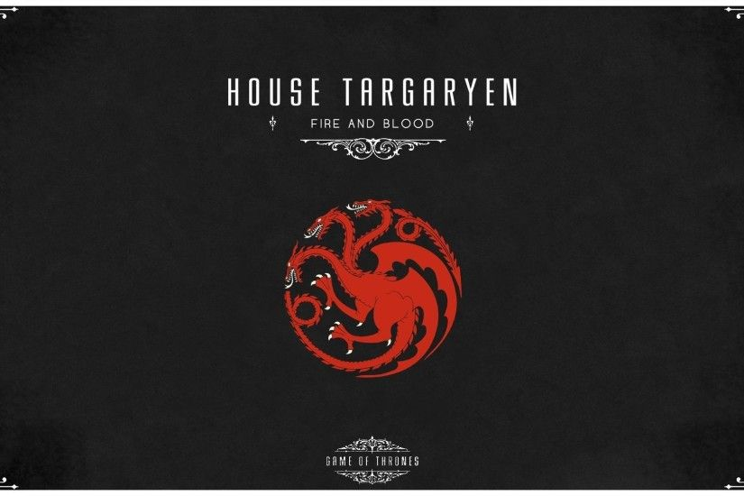 Game of thrones house targaryen wallpaper