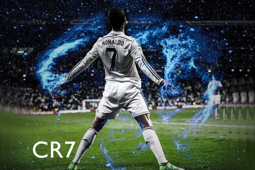 Cristiano Ronaldo Real Madrid HD desktop wallpaper : Widescreen .