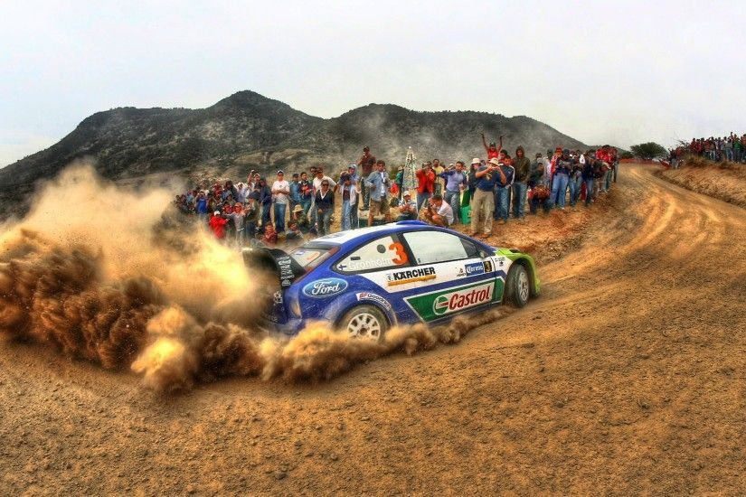 WRC Ford Rally Car