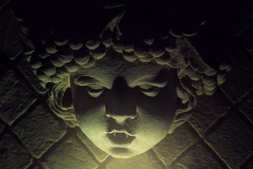 Creepy Statue Face Horror Stone Scary Gothic Wallpaper At Dark Wallpapers