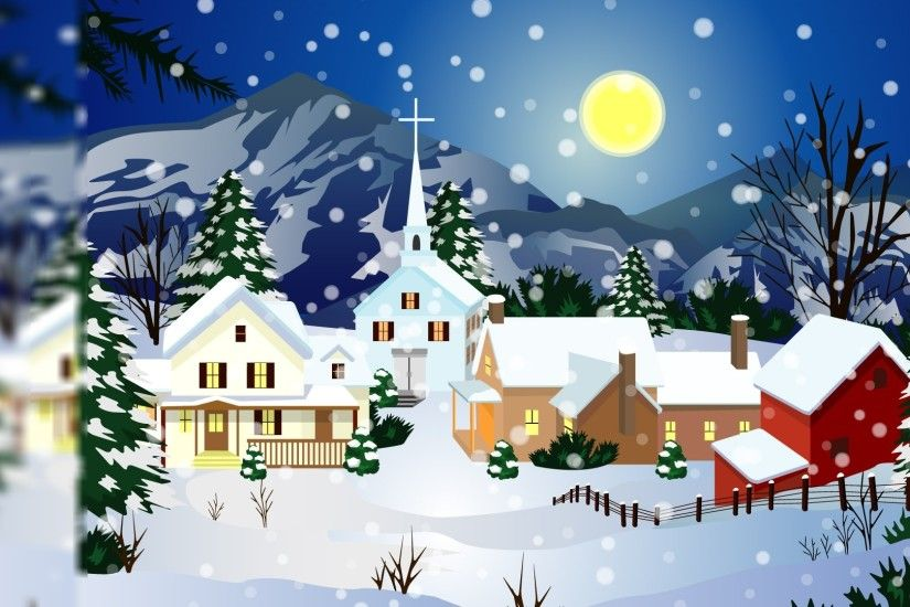 ... desktop ... christmas scenes pictures | home christmas wallpapers -  Christmas . ...