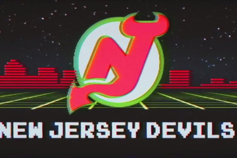 Here's a wallpaper-sized version of the retro Devils logo from the retro  night promo!