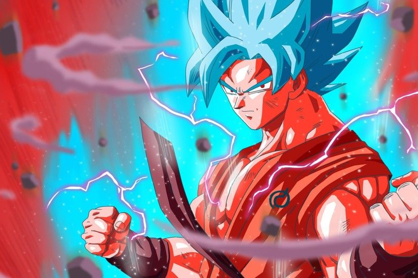 Goku Super Saiyan Blue Dragon Ball Super Wallpaper