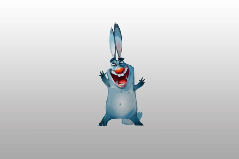 2560x1440 Wallpaper bunny, funny, picture