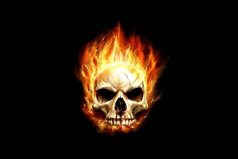 Most Downloaded Fire Skull Wallpapers - Full HD wallpaper search