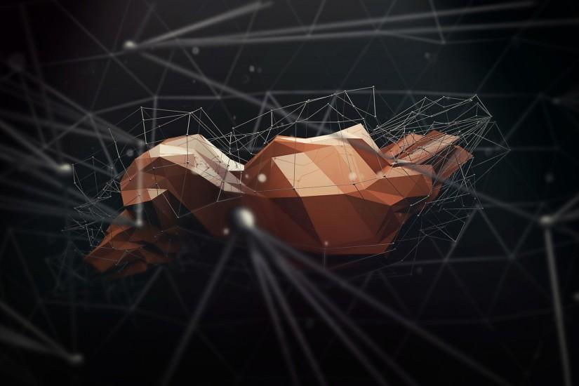 Polygon Art Abstract a wallpaper