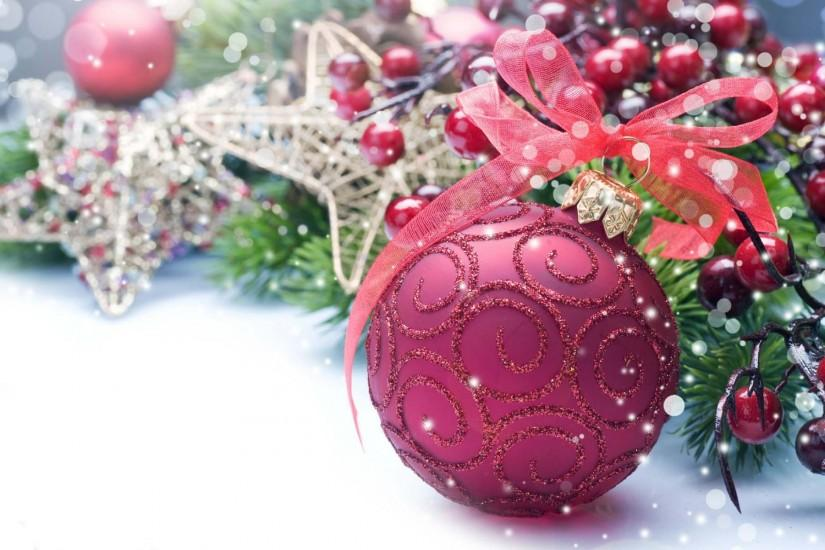Beautiful pink ball for pink christmas