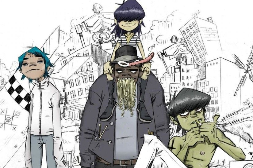 Gorillaz-by-Jamie-Hewlett-wallpaper-wp3806033