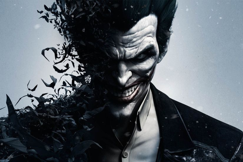 the joker batman arkham origins ultra hd wallpaper