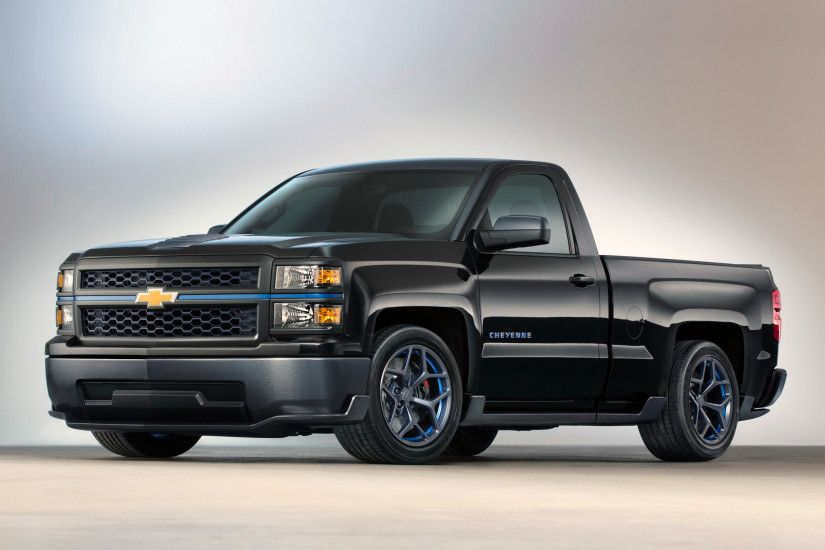2013 Chevrolet Silverado Cheyenne Concept pickup tuning muscle g