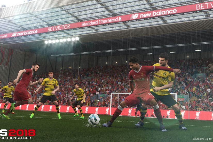 Hands-On: Pro Evolution Soccer 2018 gets much-needed facelift