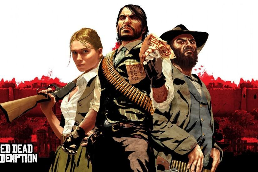Red Dead Redemption Wallpaper for Xbox 360 - Games Wallpapers HD