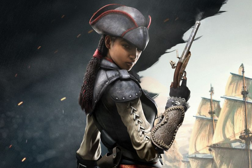 Assassin's Creed 4 DLC - Aveline - PS4 - Nerd Bacon Reviews