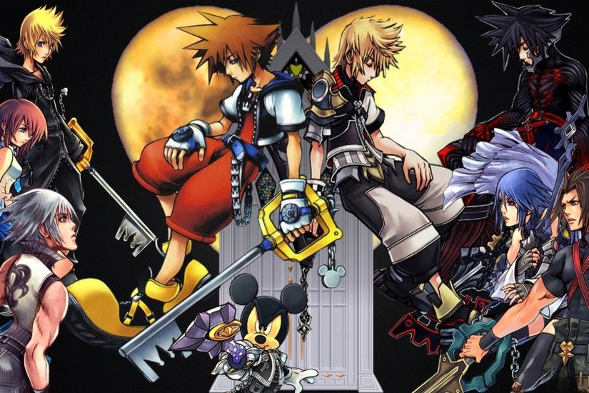 ... Images of Kingdom Hearts Characters Wallpaper - #SC ...