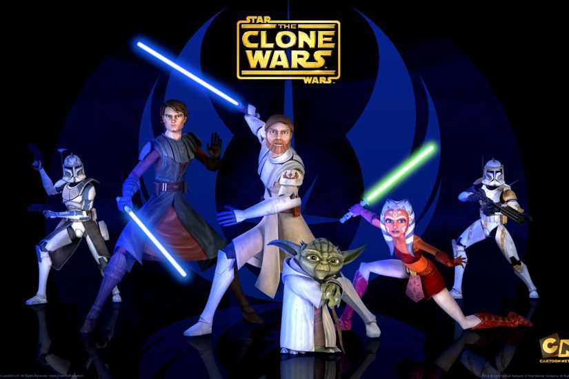 Jedi Masters from The Clone Wars wallpaper - Click picture for high  resolution HD wallpaper