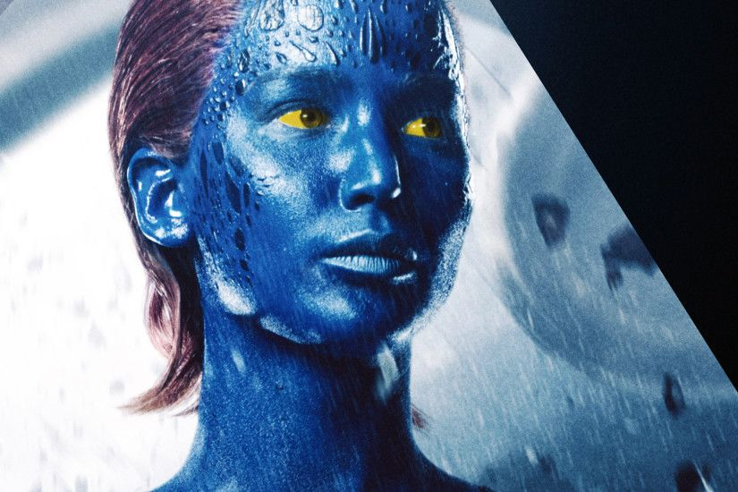 jennifer lawrence as mystique / raven in x men days of future past 2014  movie girl