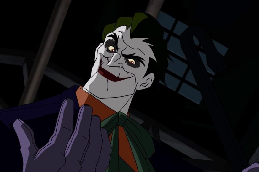 The Joker in Batman: Under the Red Hood wallpaper