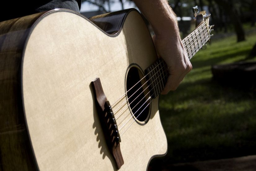 acoustic guitar wallpaper high resolution 02