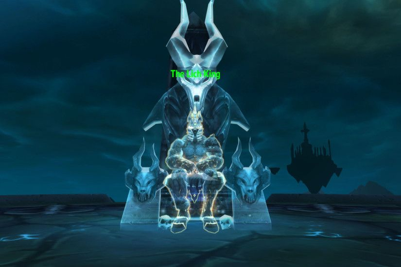As you can see, the Lich King is no longer frozen. This might be a big hint  about one of the upcoming expansions.