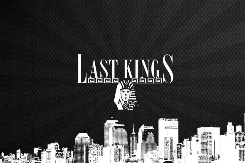 Last Kings Wallpaper Gold Background · Last Kings Wallpaper with Logo on  City