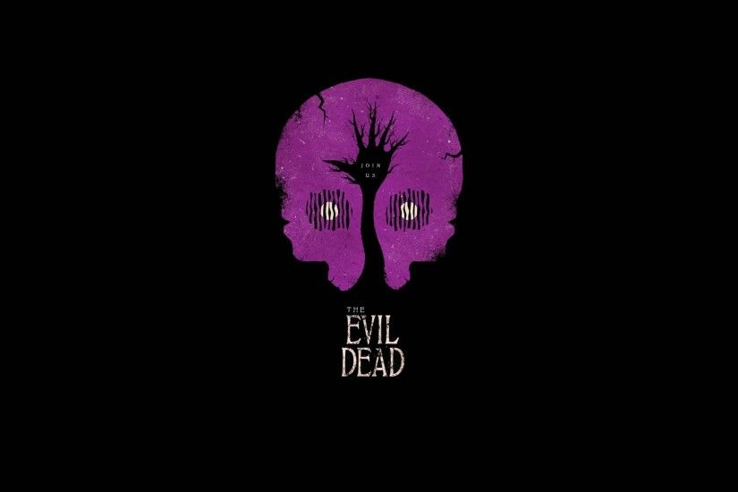 Evil Dead, Minimalism, Artwork, Movies, Black, Simple Wallpapers HD /  Desktop and Mobile Backgrounds